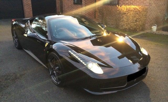 Entrepreneurs' cars: Ferrari 458