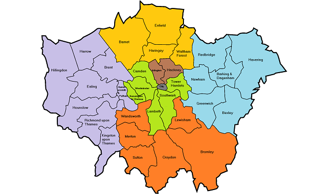 Where is the best place in London to start a business?