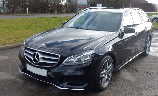 Entrepreneurs' cars: Mercedes E350