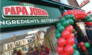 Papa John's sees franchise take-up in Scotland