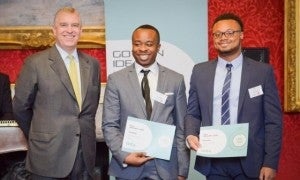 Duke of York reveals winning young entrepreneurs of iDEA 2015