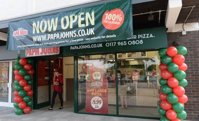 Papa John's franchisee capitalises on 2015 incentive scheme with fourth store