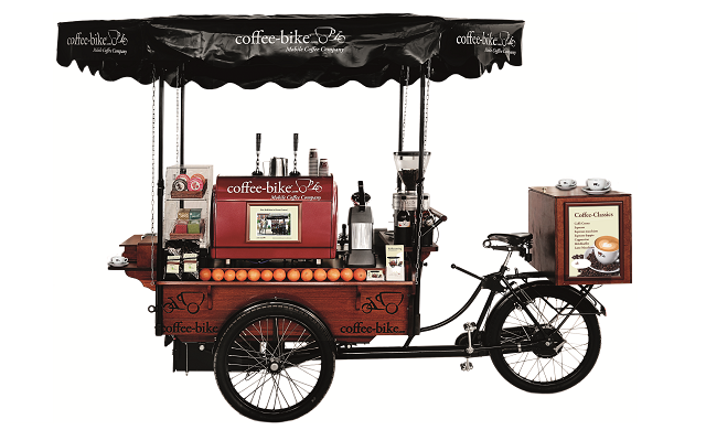 coffee bike the franchise opportunity. Black Bedroom Furniture Sets. Home Design Ideas