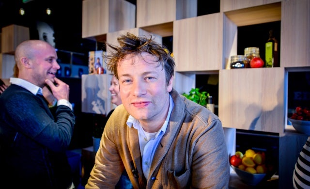 Jamie Oliver and host of celebrity chefs back food market start-up
