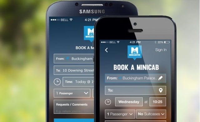 Minicabster announces takeover of rival taxi app Bounce