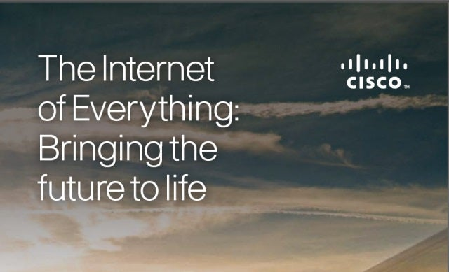 Cisco to invest $150m in Internet of Everything start-ups