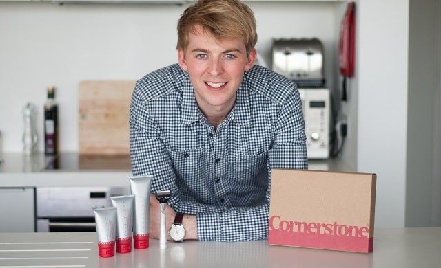 New shaving brand Cornerstone pulls in £900,000 from the crowd