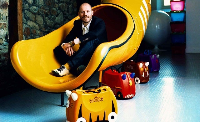Rob Law Trunki founder