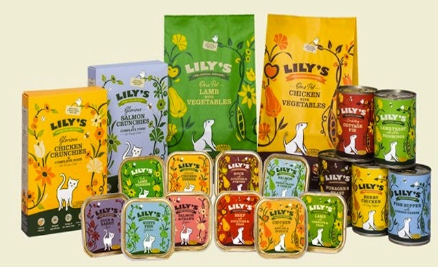 "Lily's Kitchen secures ""several millions of pounds"" for posh pet food"