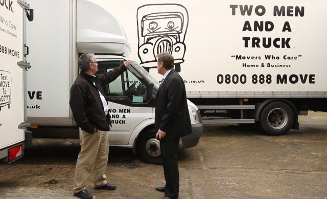 US removals franchise Two Men And A Truck delivers UK growth