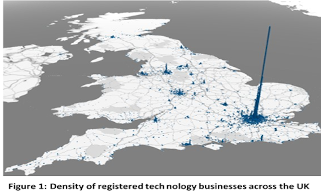 New study reveals London's top tech postcodes