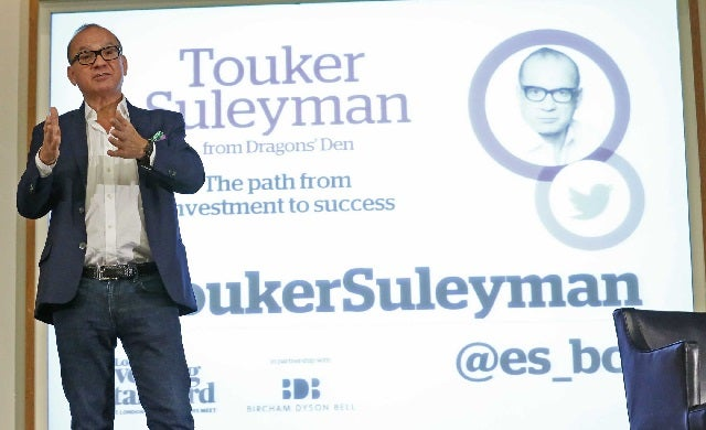 Dragons' Den star Touker Suleyman's 6 top investment tips