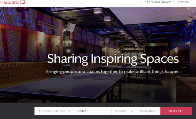 'Airbnb for off-site meeting spaces' HeadBox launches with £1.2m funding