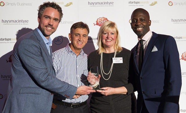 2014 Startups Awards franchisee winners celebrate 900% turnover growth