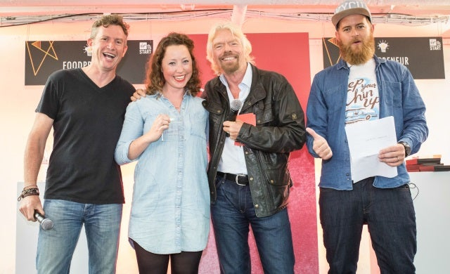 "Sir Richard Branson names Britain's ""hottest"" new food businesses"
