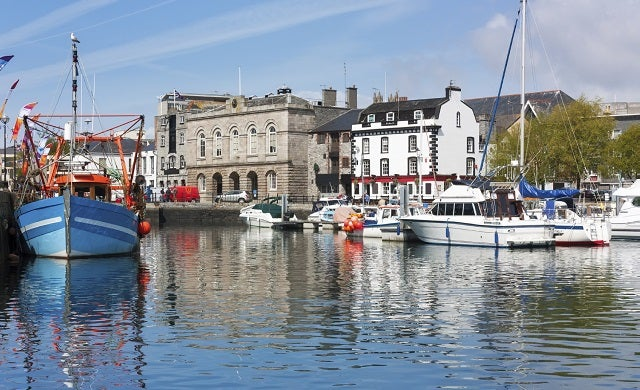 Plymouth harbour