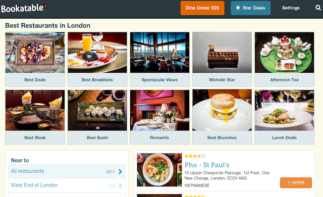 Restaurant reservation start-up Bookatable acquired by Michelin