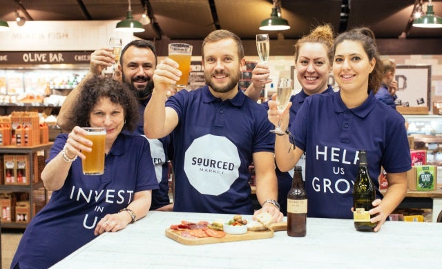 Artisan food and drink start-up Sourced Market accrues £1m from the crowd