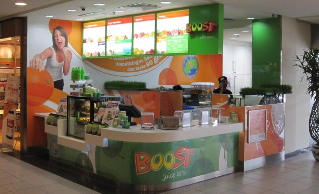 £4.9m for popular retail brands Shake Lab and Boost Juice Bars