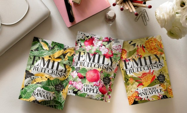 Healthy food business: Emily Fruit Crisps