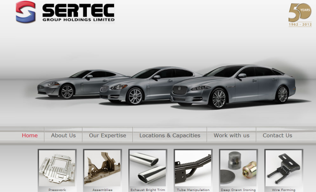 UK manufacturer Sertec closes £20m growth capital