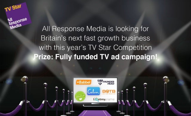 Last chance to win a free TV ad campaign worth £50,000!