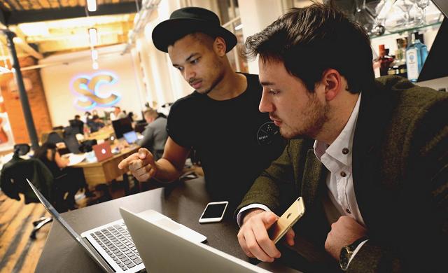 Young Entrepreneurs: Dominic McGregor and Steven Bartlett, Social Chain