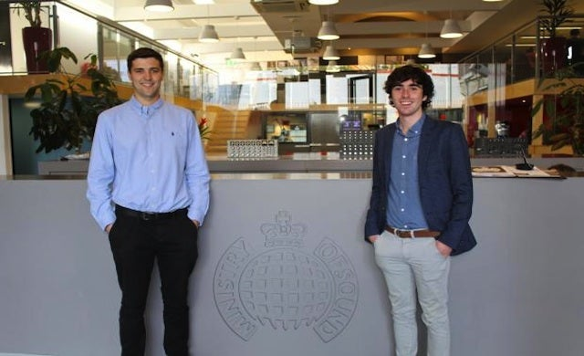 Young Entrepreneurs: Sam Coley and Steve Pearce, TickX