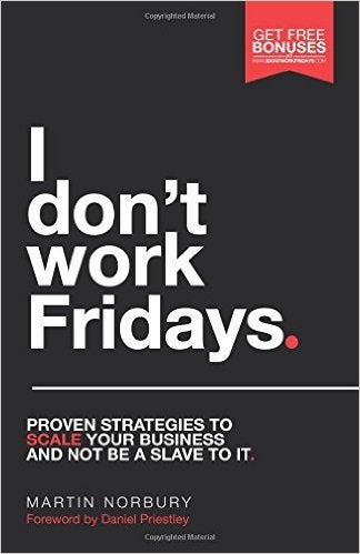 I don't work fridays cover