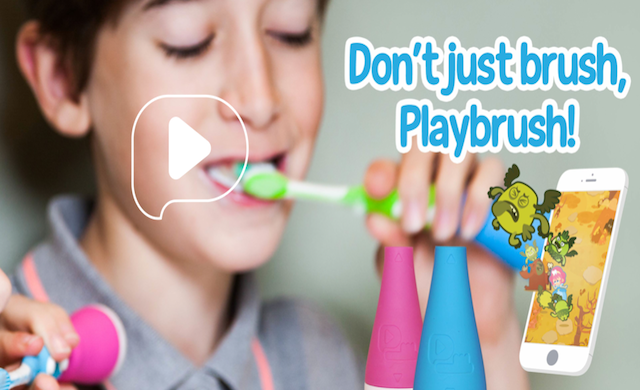 Playbrush scoops £500,000 for toothbrush video game device