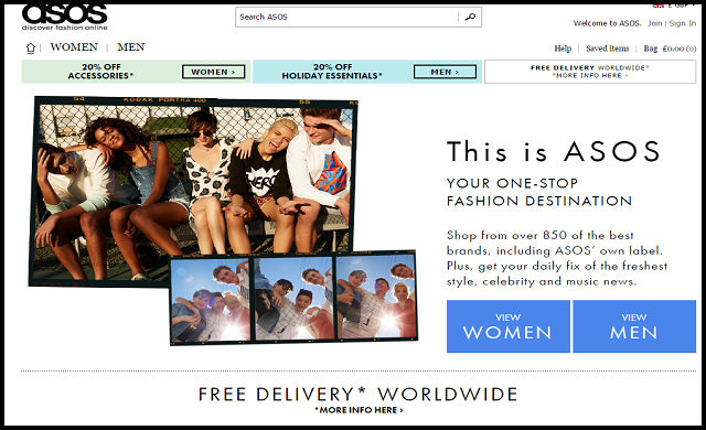 "ASOS launches search for world's ""most innovative"" 'fashtech' start-ups"