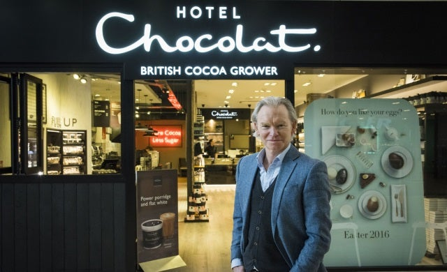 Hotel Chocolat makes its debut on AIM
