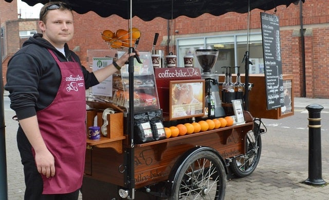 Coffee-Bike welcomes first UK franchisee