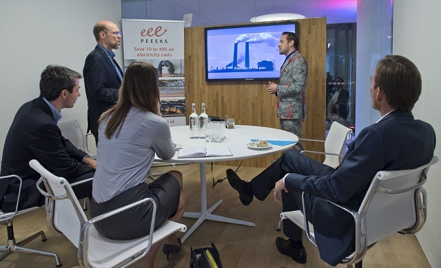 What does energy group Eneco offer start-ups?