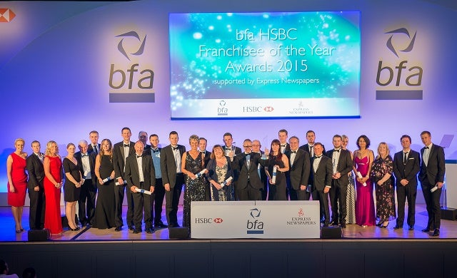 UK's best franchisees shortlisted for bfa awards