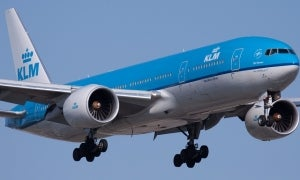 What does airline KLM offer start-ups?