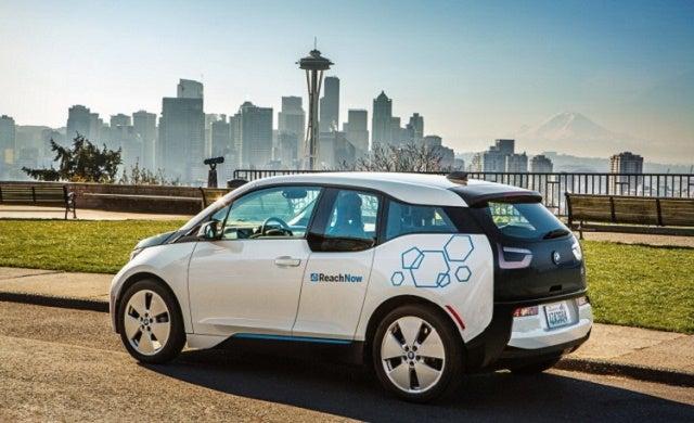 What does car manufacturer BMW offer start-ups?