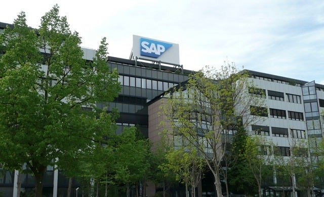 What does software company SAP SE offer start-ups?