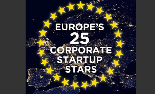 Europe's 25 Corporate Startup Stars