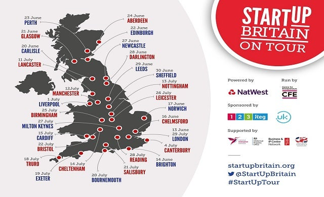 StartUp Britain UK bus tour back on the road for 2016