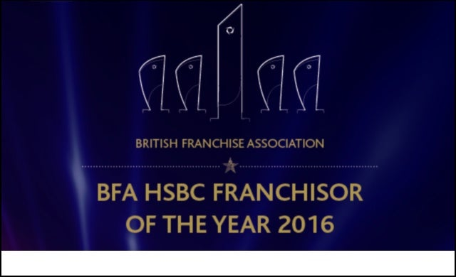 bfa Franchisor of the Year 2016 winners announced