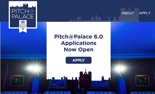 Applications open for Pitch@Palace 6.0
