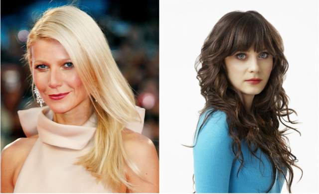 Celebrity entrepreneurs Gwyneth Paltrow and Zooey Deschanel talk business