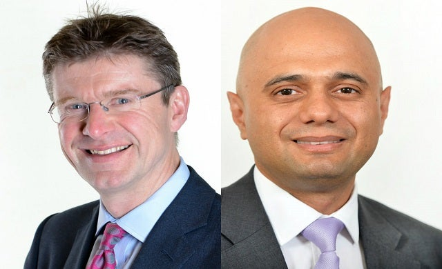 Greg Clark appointed business secretary as Sajid Javid gets demoted