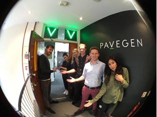 The Pavegen team
