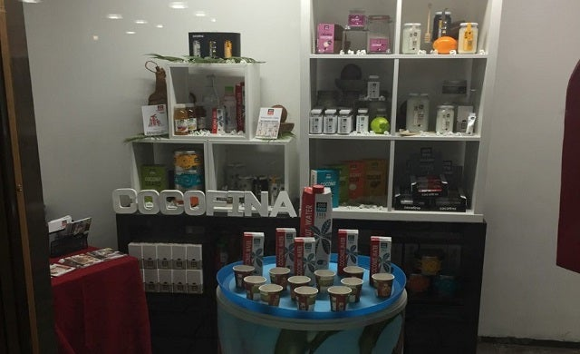 Cocofina display