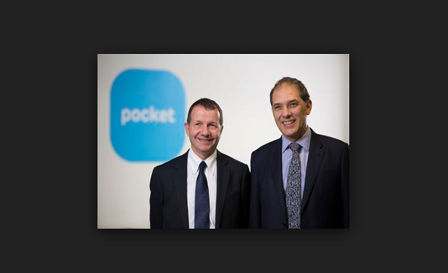 Pocket Land founders Paul Harbard and Marc Vlessing