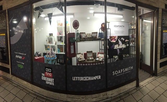 Startups pop up shop Piccadilly