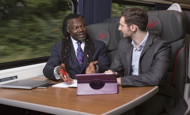 Virgin Trains to host on-board business clinic with Levi Roots and Jamal Edwards