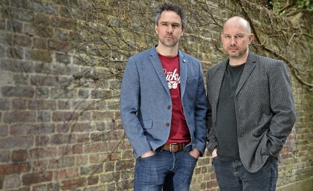 Crowdcube's Luke Lang and Darren Westlake